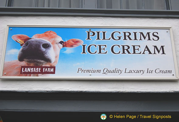 Pilgrims ice cream by Langage Farm