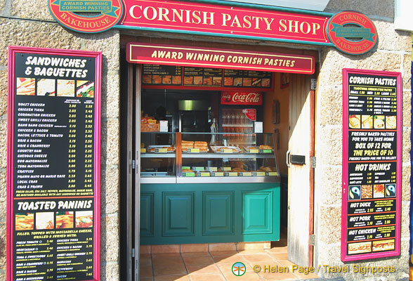 This Cornish Pasty shop has a huge range of pasties