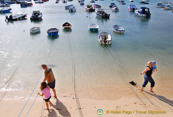 St Ives is a popular destination for family holidays