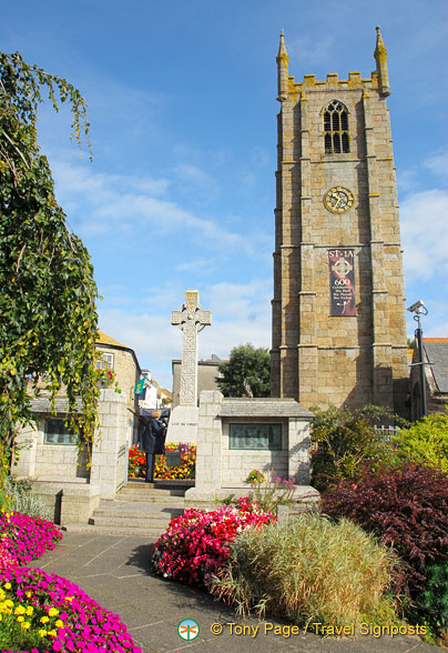 St la, St Ives Parish Church