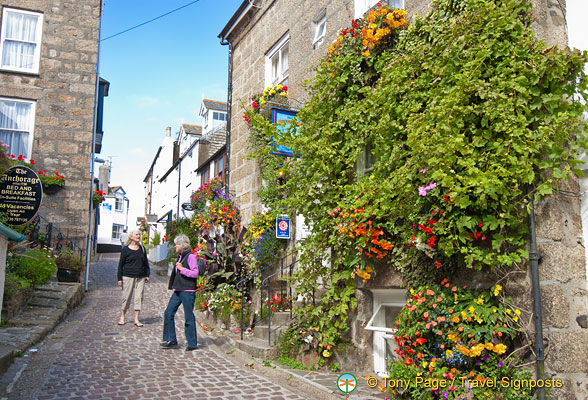 Beautiful streets of St Ives