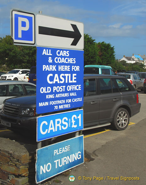 Car parking for GBP 1