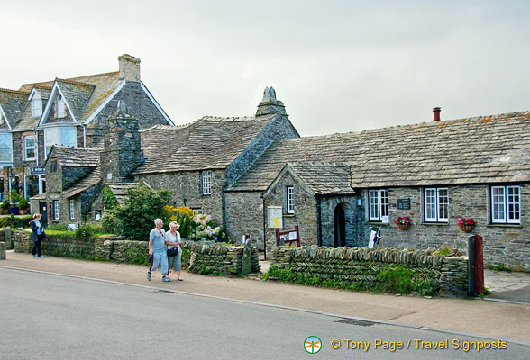 Main street of Tintagel