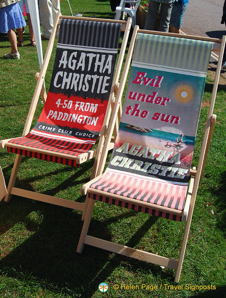 Agatha Christie directors' chairs