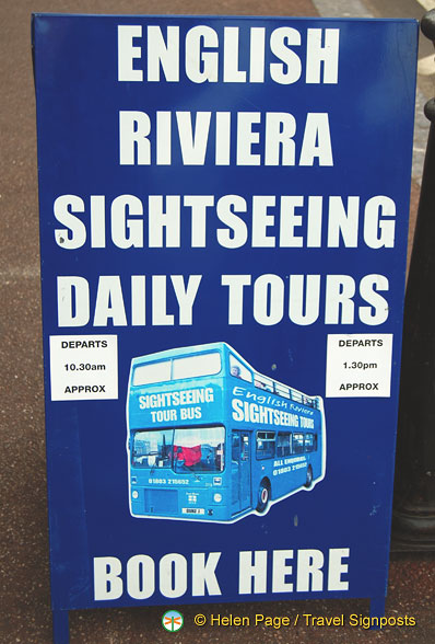 About the English Riviera Sightseeing tours