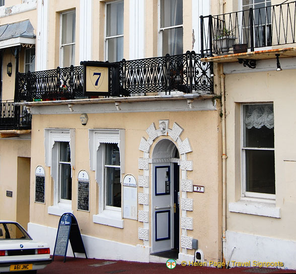 No 7 restaurant - a fish bistro we dined at