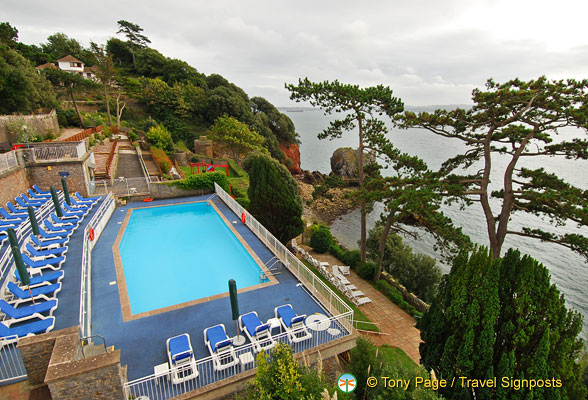 Imperial Torquay swimming pool