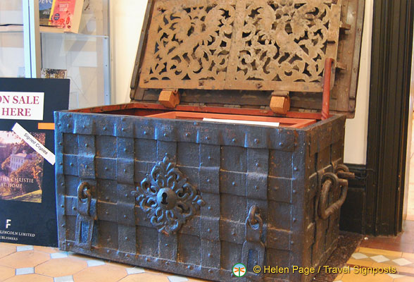 An Armada Chest of Flemish workmanship