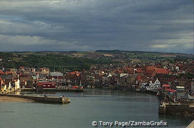 Whitby harbour - Whitby - Yorkshire Coast - England