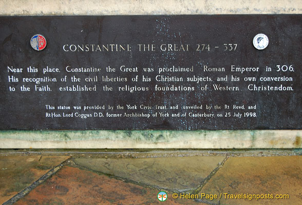 About Constatine the Great