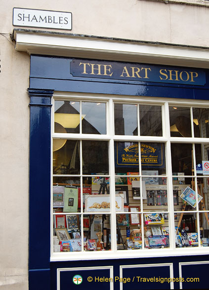 The Art Shop in the Shambles