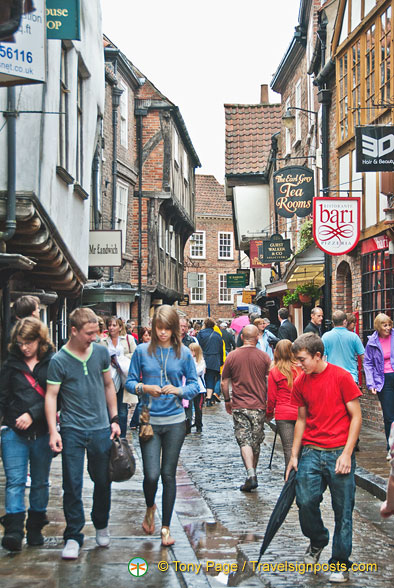 Shopping in The Shambles