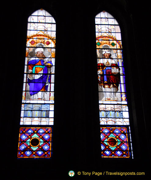 York Minster has the largest collection of medieval stained glass in Britain