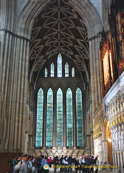 Five Sisters Window in the North Transept of York Minster