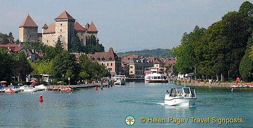 Annecy boat cruise