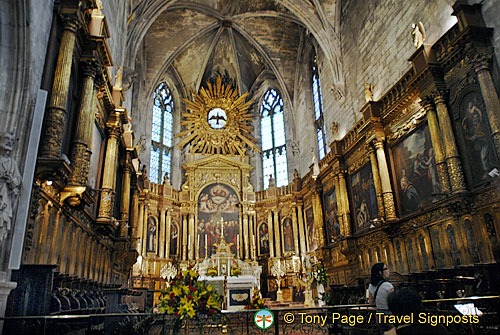 Magnificent alter - Church of St Pierre