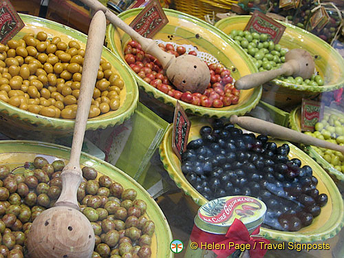 Provencal olives are a specialty food