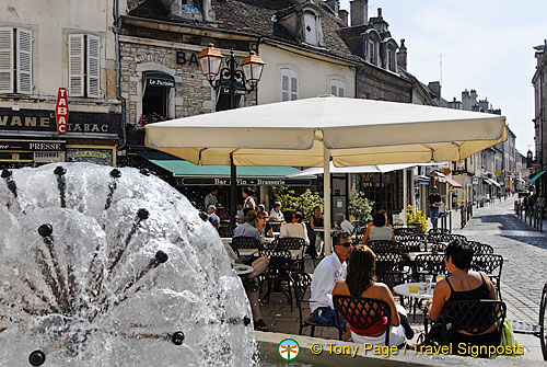 Beaune town centre