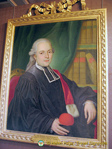 Portrait of Jean Baptiste Bourgeois
