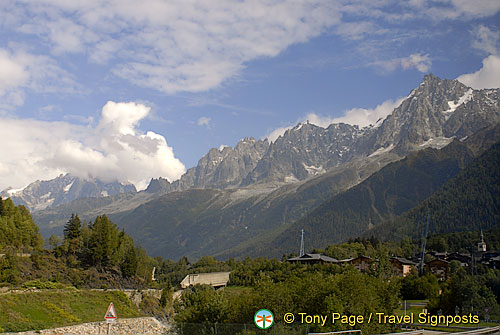 Chamonix and Mont Blanc, French Alps, France