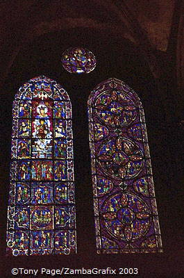 Chartres Stained glass window