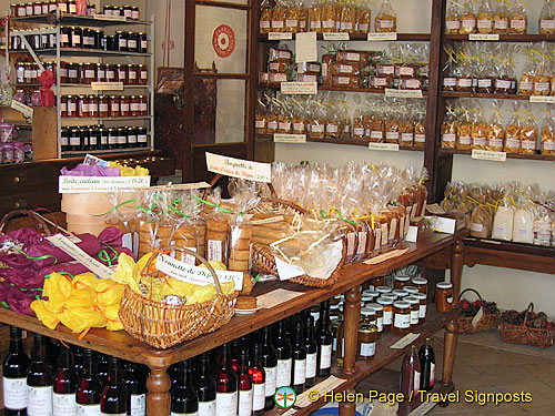 A shop full of Dijon products