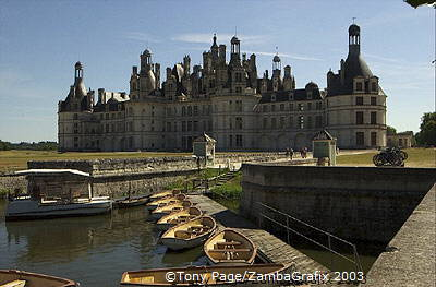 The Chateau was the creation of Francois I [Chateaux Country - Loire - France]