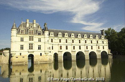 Chenonceau was created by a series of aristocratic women from the Renaissance onwards
