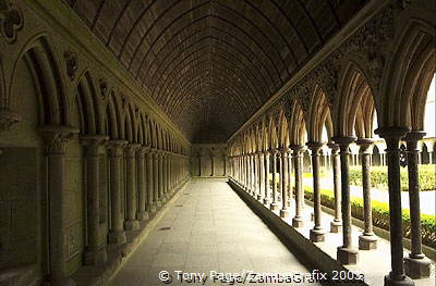 The Cloisters Mont-St-Michel [Mont-St-Michel - France]