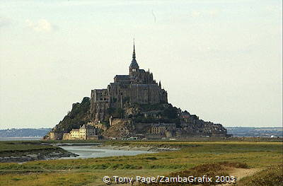 The silhouette of Mont-St-Michel is one of France's most enchanting sights [Mont-St-Michel - France]