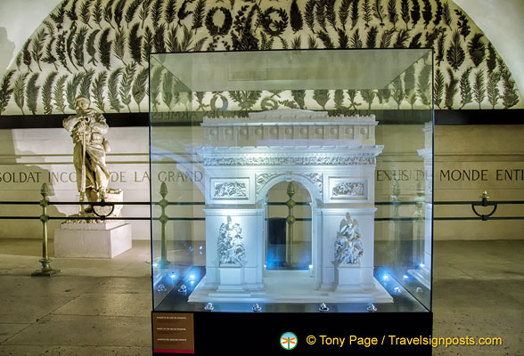 Model of the Arc de Triomphe