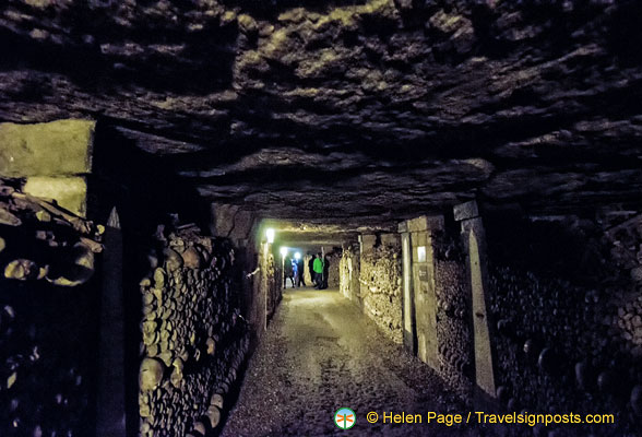 A passageway in the Catacombes