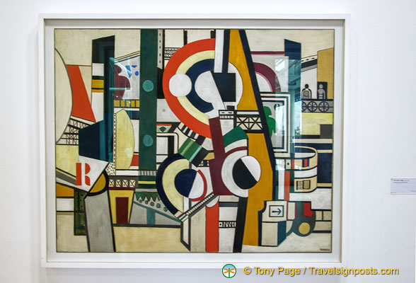 Fernand Léger - The Discs in the City