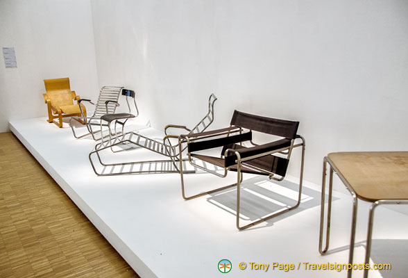 Centre Pompidou furniture