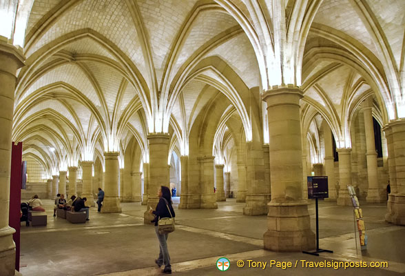 The Cavalrymen's room in the Conciergerie