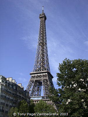Paris's (and France's) most famous landmark - The Eiffel Tower