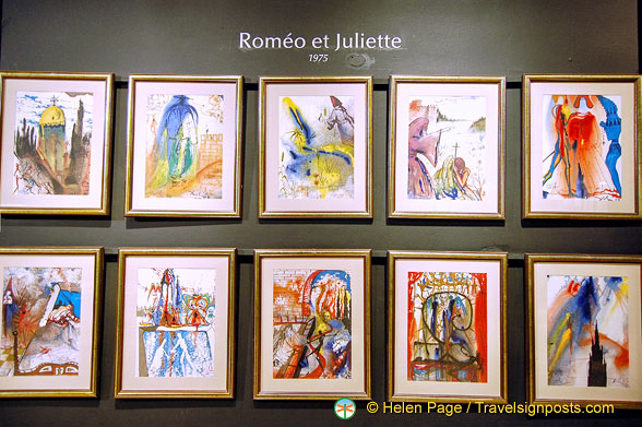 Dalí Art - Romeo and Juliette