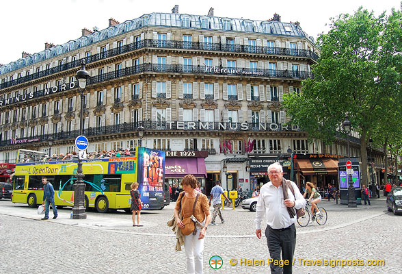Terminus Nord, a Mercure hotel just across from the Gare du Nord