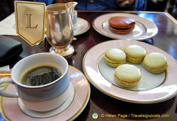The delicious Ladurée macarons