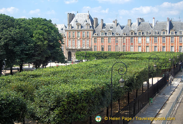 View of Place des Vosges