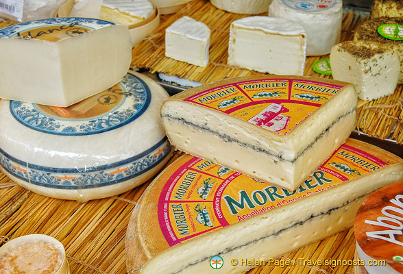Morbier, a favourite cheese