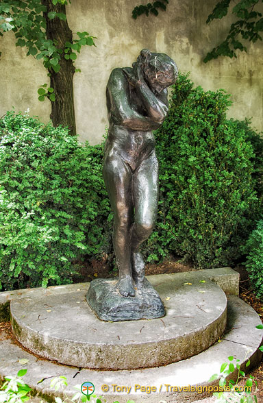 Eve, a popular Rodin sculpture