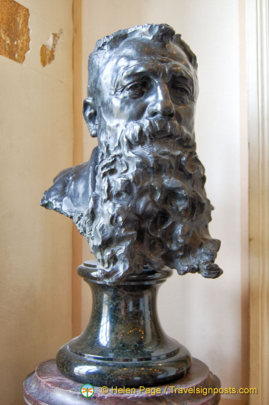 Bust of Rodin