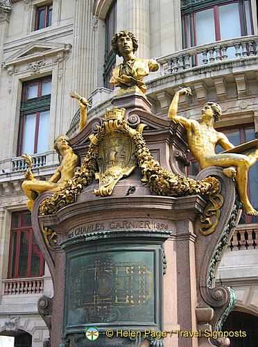 Charles Garnier - designer of the Palais Garnier