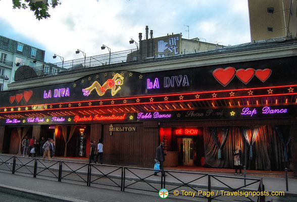 La Diva club has lap dancing, table dancing .. and more