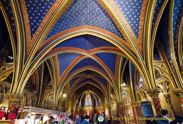 Lower Chapel of Sainte-Chapelle