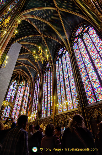 Sainte-Chapelle stained glass