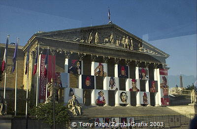L'Assemblee Nationale Palais-Bourbon