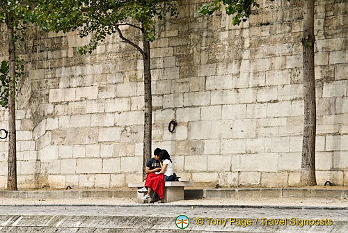 Along the Seine River Bank