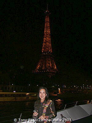 Me on the Seine River Cruise